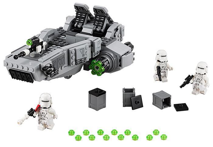 เลโก้จีน Lepin 05002 มินิฟิกเกอร์ First Order Snow Speeder ราคาถูก ชิ้นส่วน