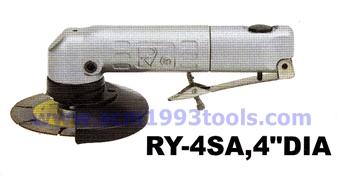 RY-4SA เครื่องขัดไฟเบอร์ 4 นิ้ว รุ่นมือไกกด ใช้งานถนัดมือ Angle Grinder