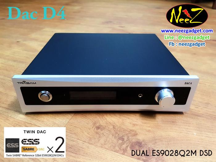 DAC D4 DSD Twin ES9028