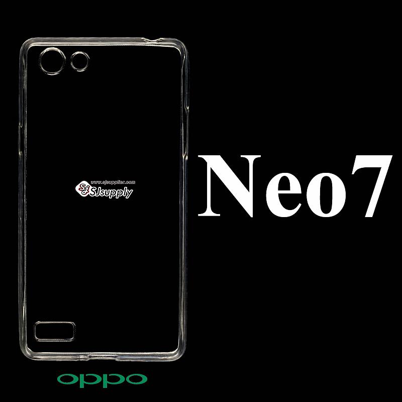 เคส OPPO Neo7 ซิลิโคน สีใส