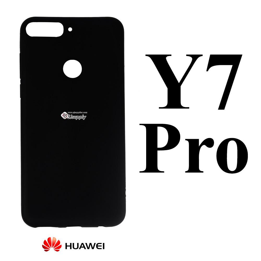 เคส Huawei Y7 Pro นิ่ม ดำ