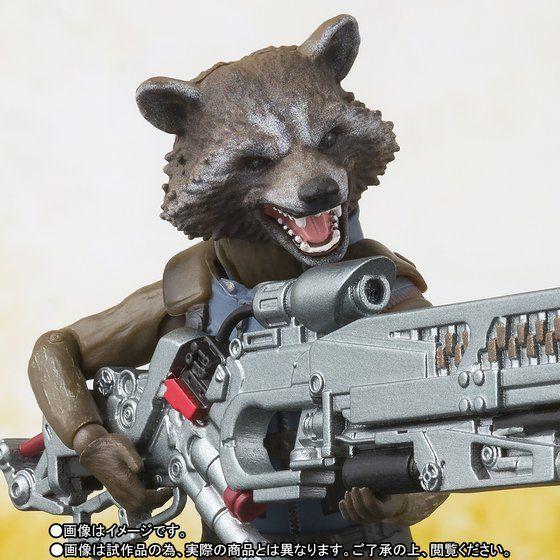 เปิดจอง S.H. Figuarts Avengers: Infinity War - Rocket Raccoon TamashiWeb Exclusive (มัดจำ 500 บาท)