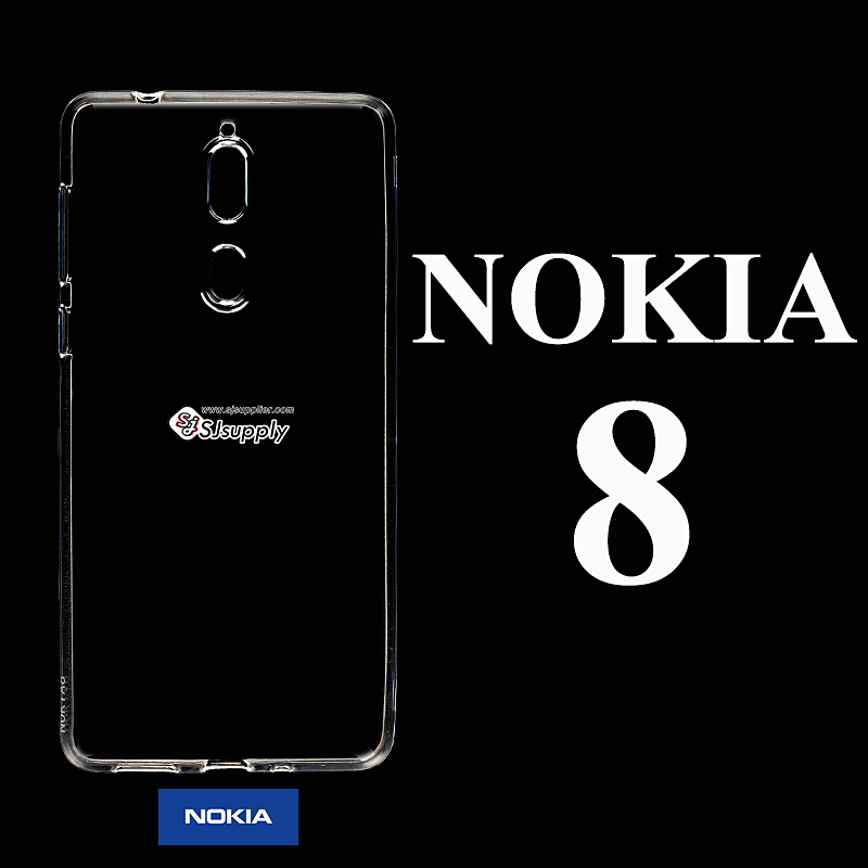 เคส NoKia 8 ซิลิโคน สีใส