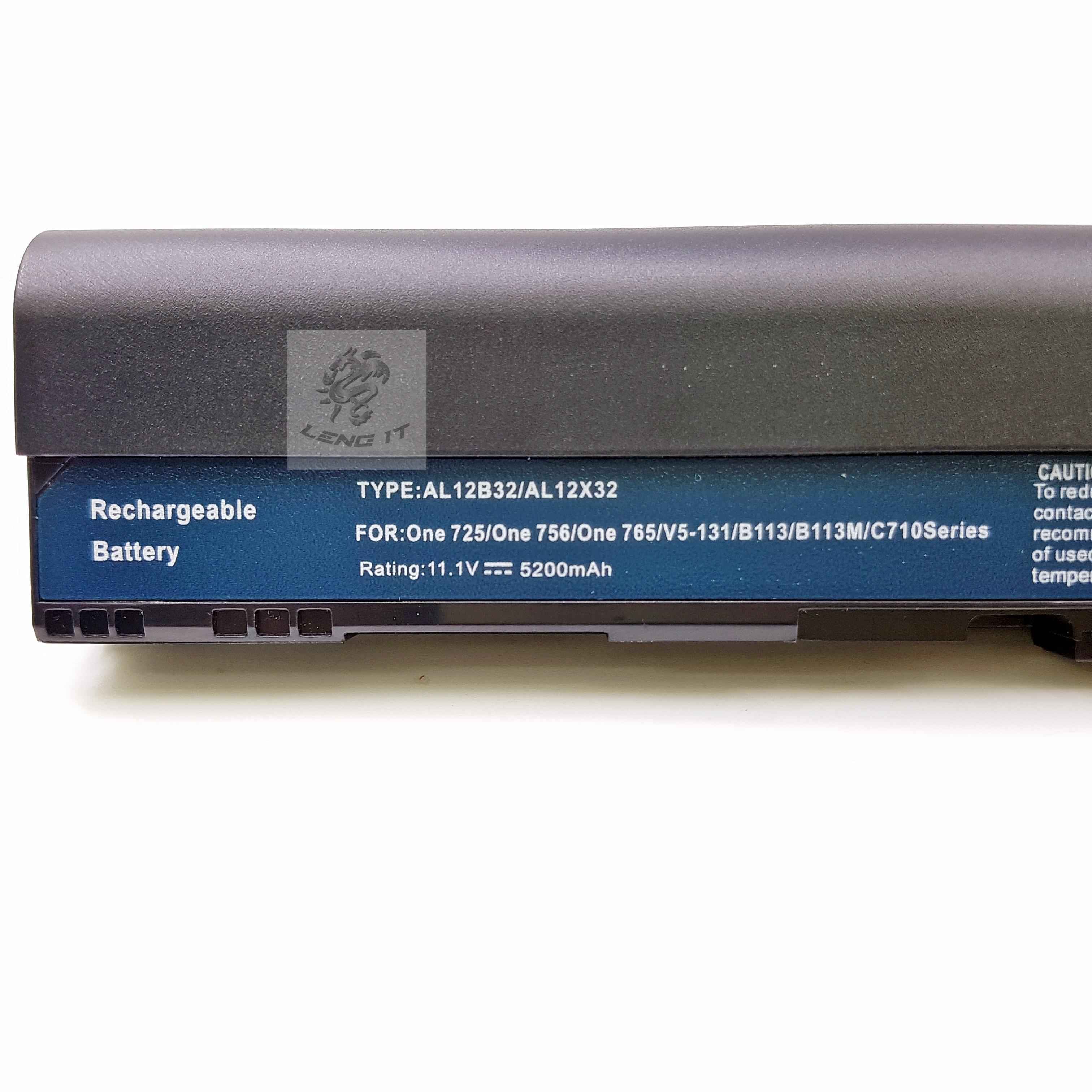 Battery Acer 756 Inspired By Lnwshopcom Baterai Original Aspire One 725 Ao725 Ao756 Series V5 171 Chromebook Ac710 Travelmate B113 M