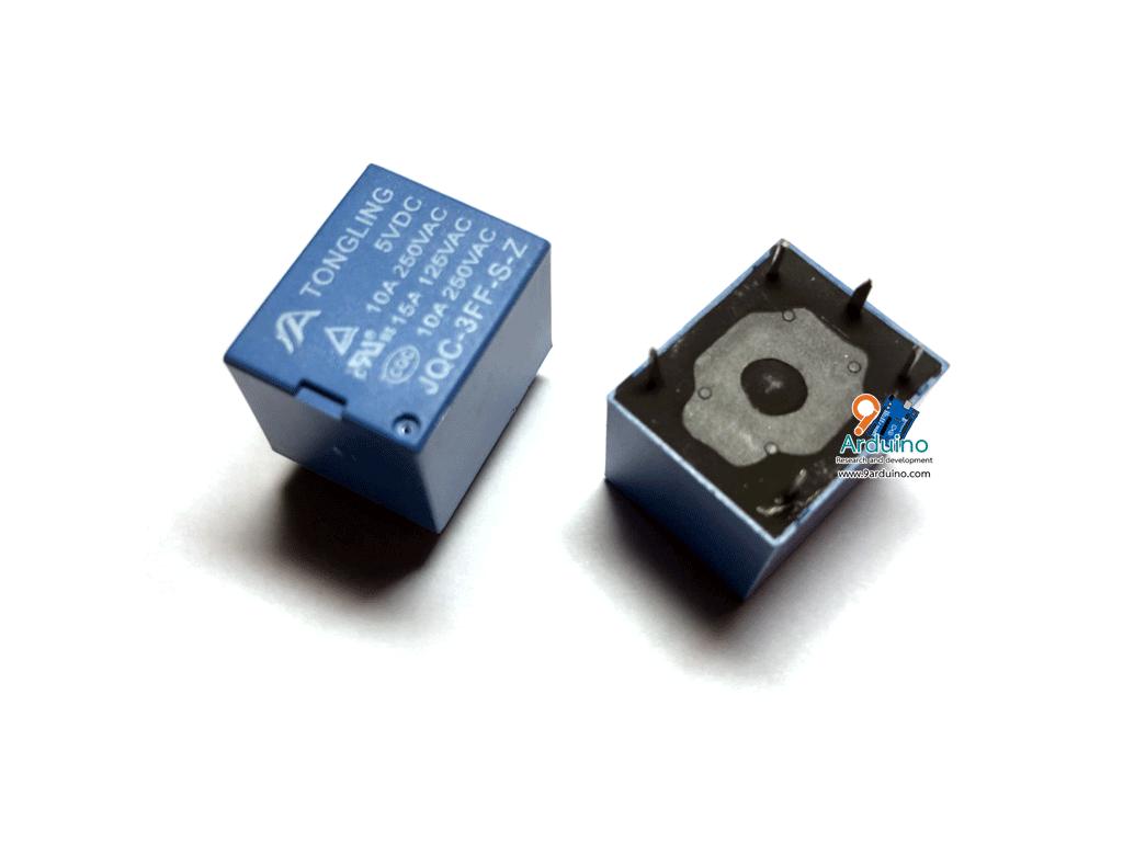 Relay 5V 10A 250VAC (SRD-5VDC-SL-C) 5 ขา