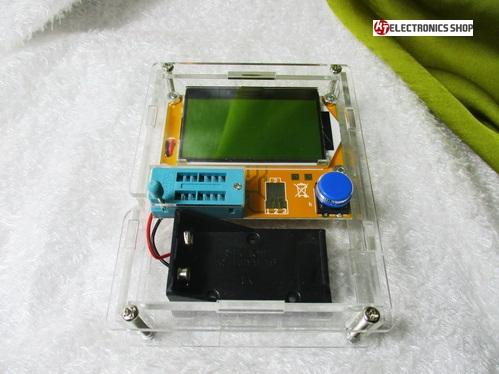 LCR- Meter ดิจิตอล LRC มัลติมิเตอร์ พร้อมกล่องอะคลิลิคใสอย่างดี