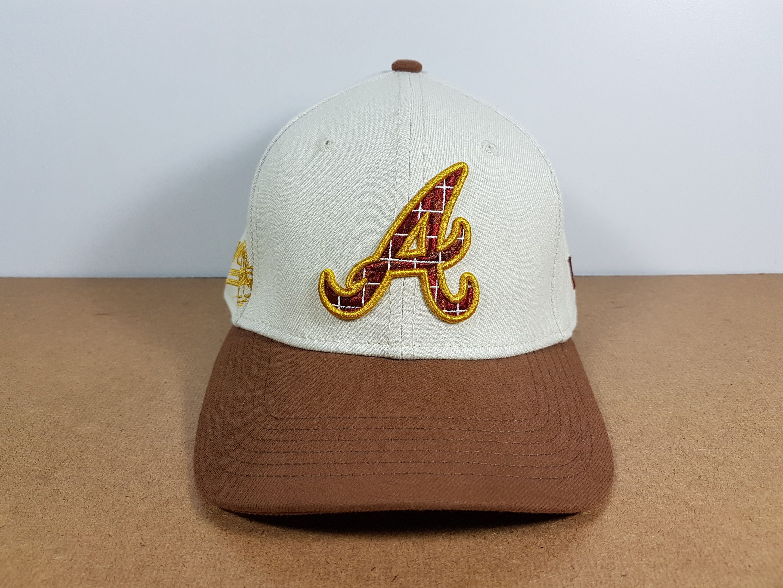 New Era MLB ทีม Atlanta Braves Fitted ไซส์ XS-S 54-55cm