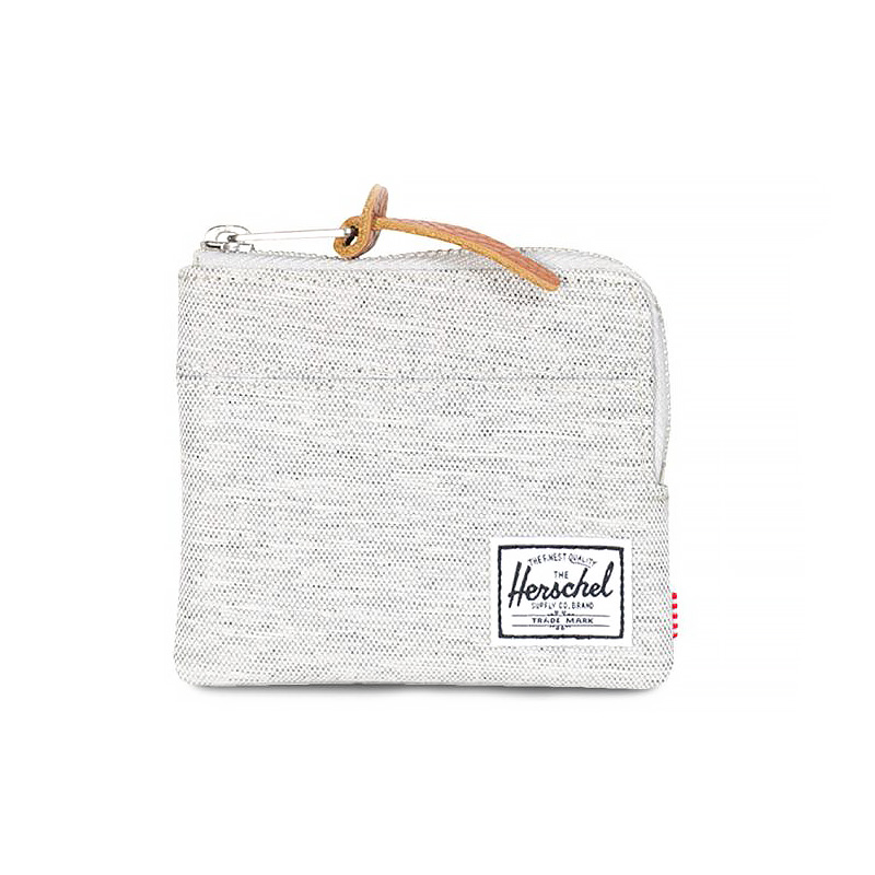 Herschel Johnny Wallet - Light Grey Crosshatch