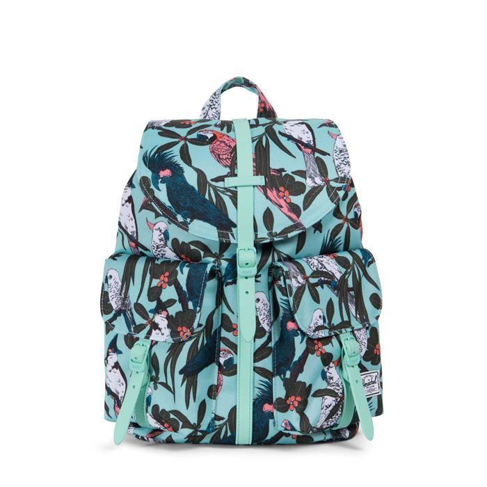 Herschel Dawson Backpack   XS - Lucite Green Parlour