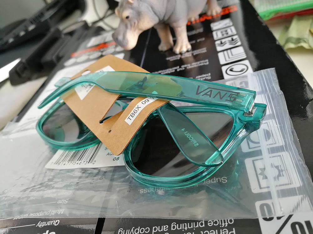 Vans Spicoli 4 Sunglasses - Aquarelle - หลังแว่น