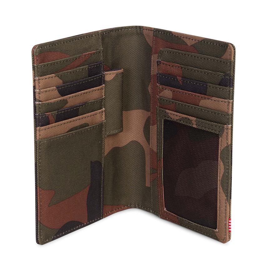 Herschel Search Passport Holder - Woodland Camo - ด้านใน