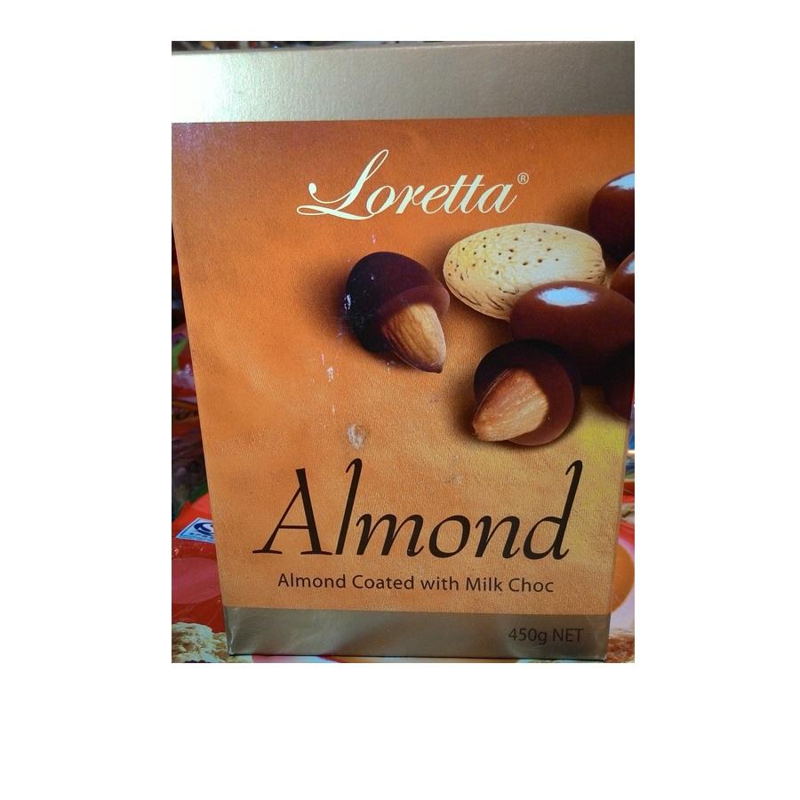 Loretta ช็อกโกแลตนมไส้อัลมอนด์ (Loretta Almond Milk Choc)
