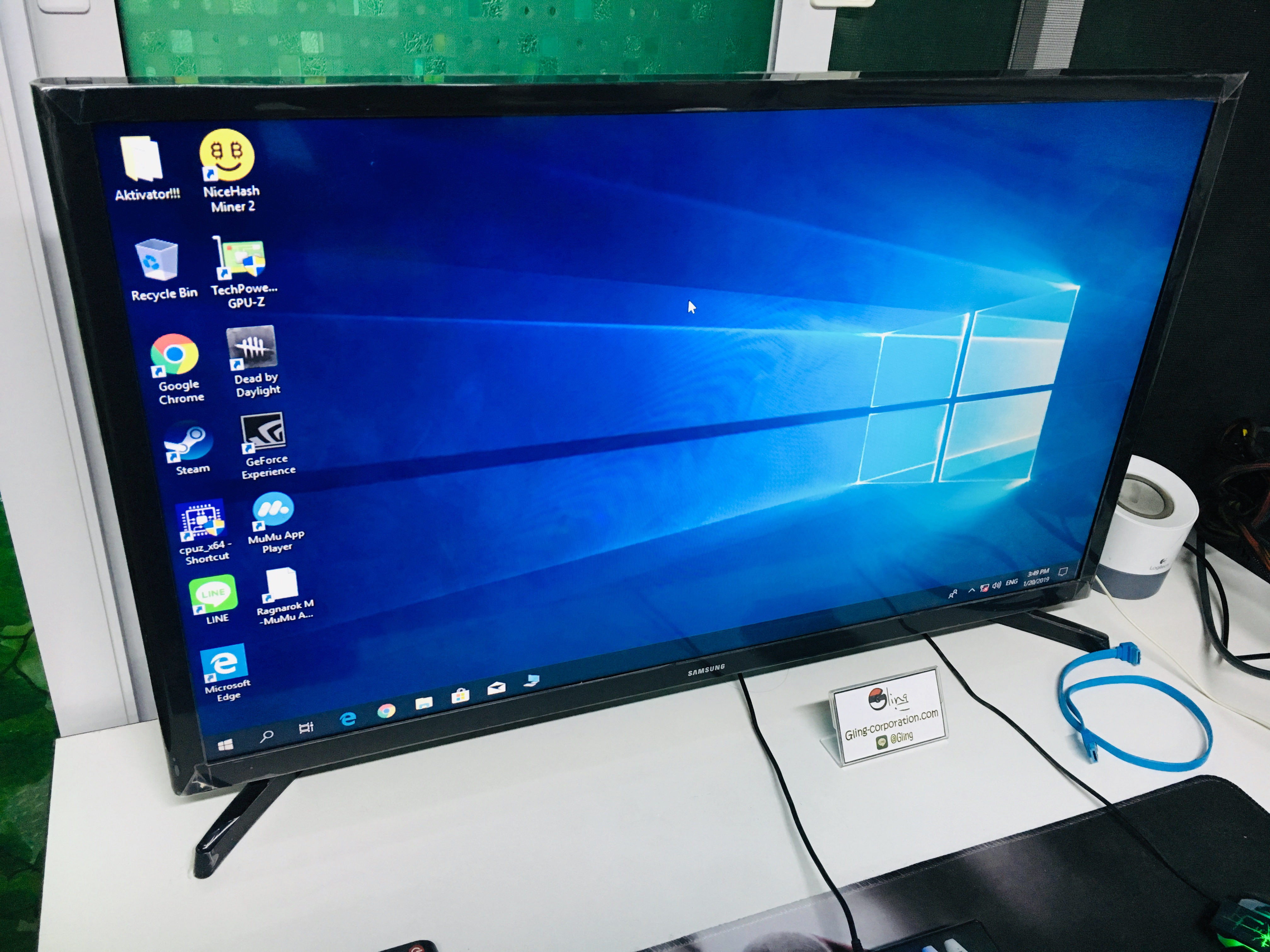 SAMSUNG SLIM HD LED SMART TV 32 UA32J4303DKXXT - Gling