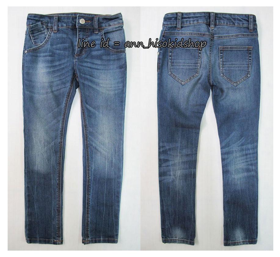 1734 Benetton Stretch Jeans - Blue ขนาด XL