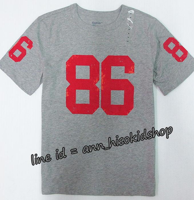 1999 GAP KIDS T-Shirt - Grey ขนาด 8-9 ปี