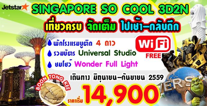 SINGAPORE SO COOL 3 DAYS ส.ค.-ก.ย.59