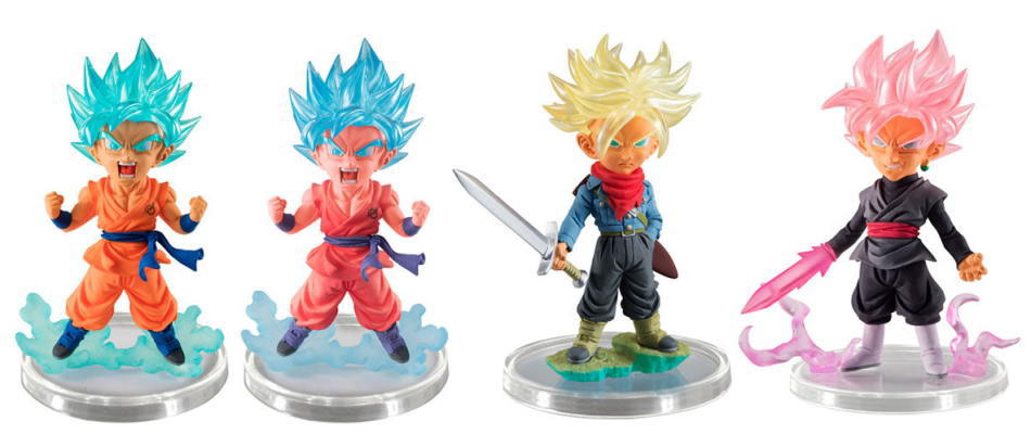 gasha dragon ball 07 (set of 4) ครบ set 4แบบ