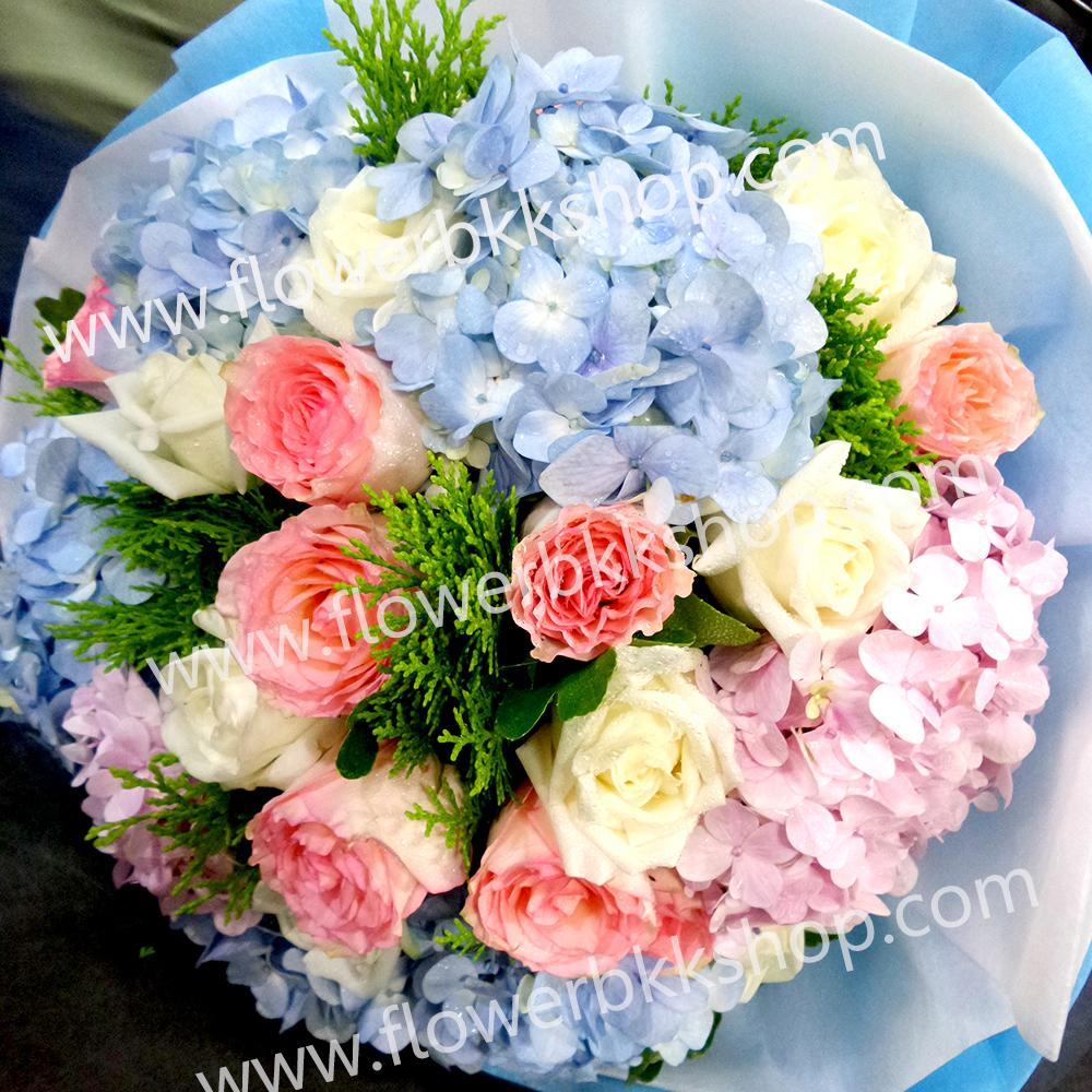 ช่อดอกไม้ รหัส WBQ02