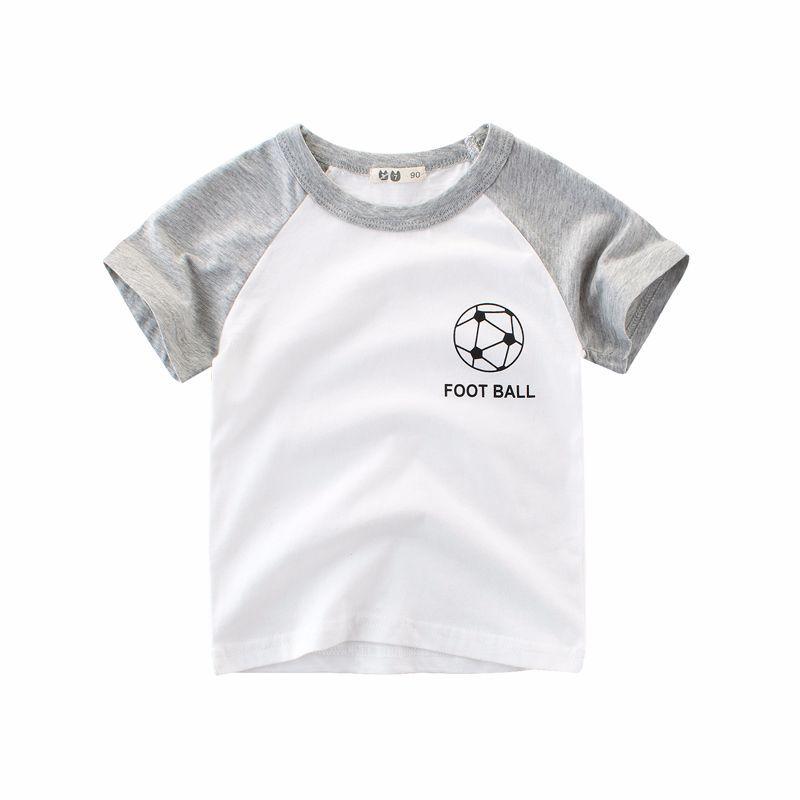 เสื้อแขนสั้นลาย football [size 2y-3y-4y-5y-6y]