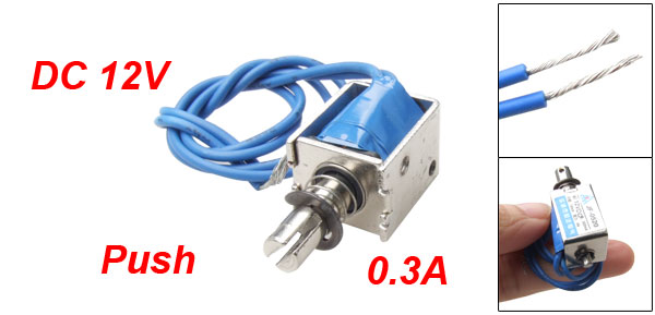 DC Solenoid Electromagnet