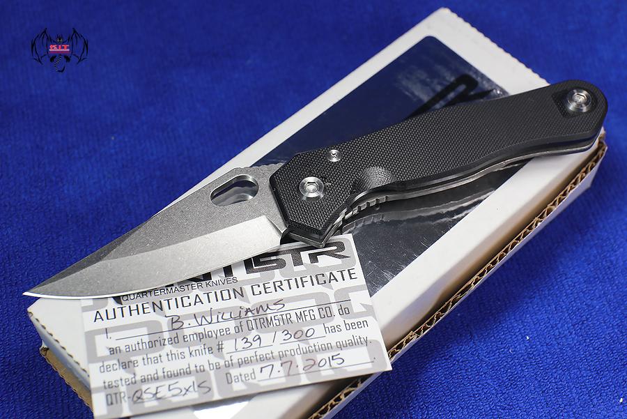 Quartermaster Mr. Roper XLS Stonewashed Blade QSE5XLS