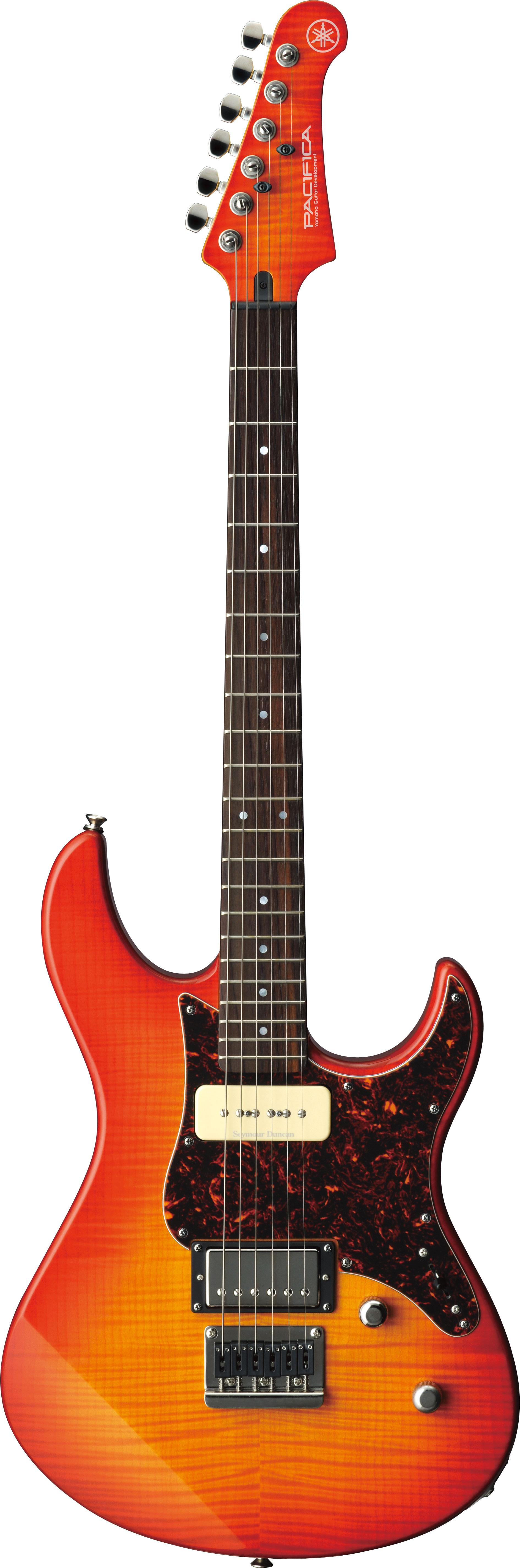 กีตาร์ไฟฟ้า (Electric Guitars) YAMAHA PAC611HFM