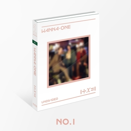 อัลบั้ม #WANNA ONE - Special Album [1÷χ=1 (UNDIVIDED) NO.1 VER.
