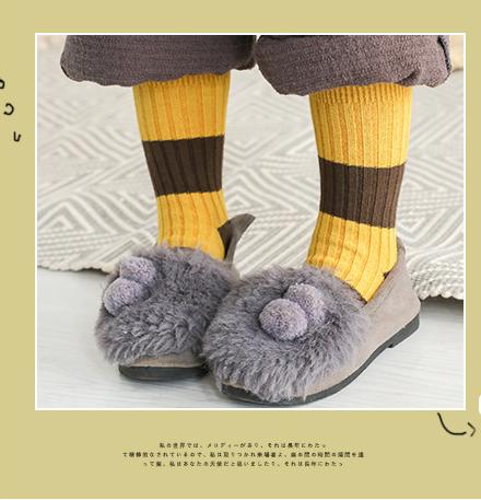 ถุงเท้าสั้น สีเหลืองน้ำตาล แพ็ค 12 คู่ ไซส์ ประมาณ 3-5 ปี