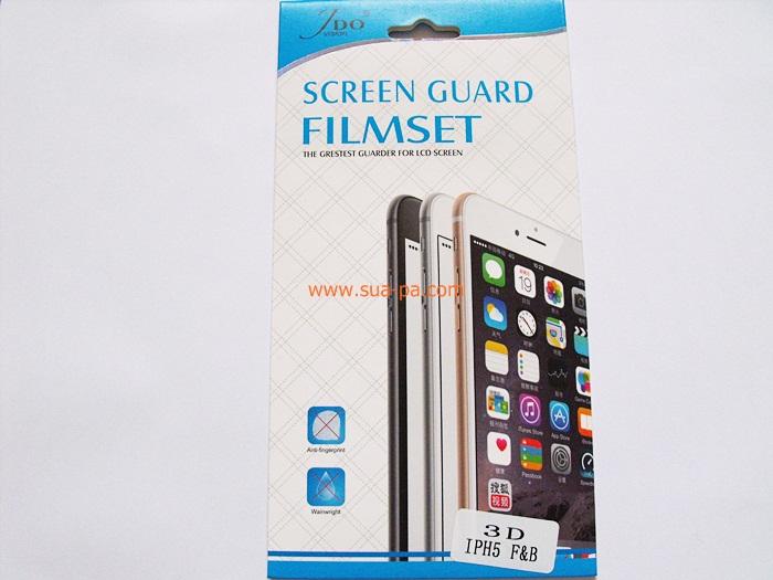 ฟิล์มกันรอย Iphone 5/5S แบบใสมีลาย