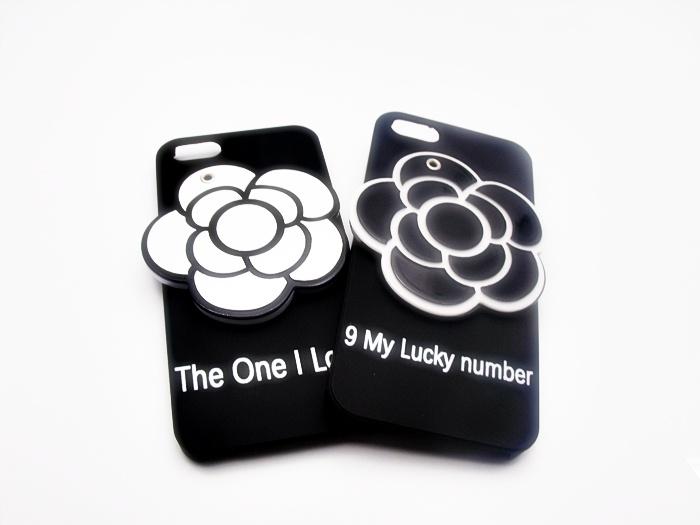 เคสดอกไม้ 3D ซ่อนกระจก ไอโฟน 5/5s