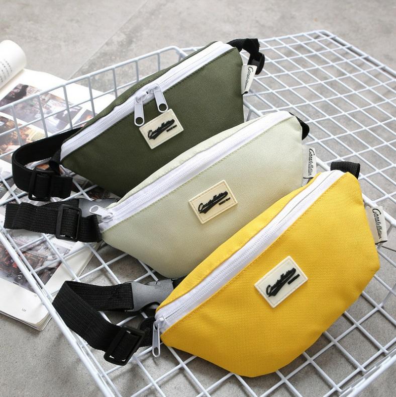 กระเป๋าสะพายข้างเด็ก [สี : เหลือง-ฟ้า-เขียวอ่อน-เขียวทหาร-กรมท่า]