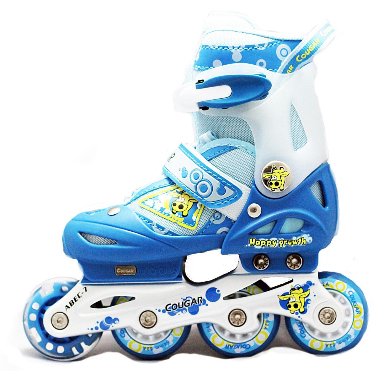 รองเท้าสเก็ต rollerblade รุ่น MCF สีฟ้า-ขาว Size S *พร้อมเซทป้องกันสุดคุ้ม สำเนา