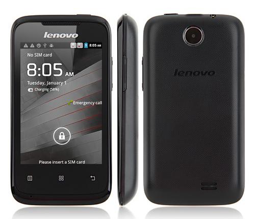Lenovo A269i สมาร์ตโฟน 3G ราคาถูก จอ 3.5 นิ้ว เครื่องศูนย์