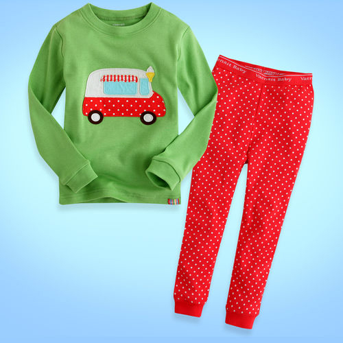 PXC037 เสื้อผ้าเด็ก ชุดนอน baby Gap งานส่งออก USA Size 5Y