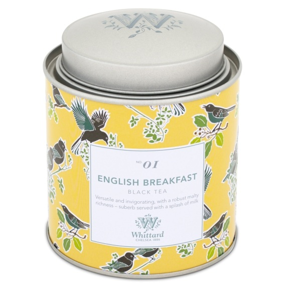 WTDC01- Whittard of Chelsea - English Breakfast Discovery Collection 100g Caddy