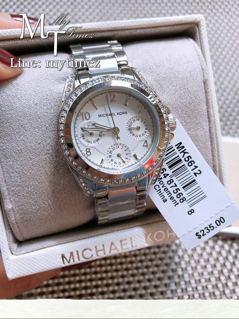 นาฬิกาข้อมือ MICHAEL KORS รุ่น Blair Multi-Function Glitz Ladies Watch - MK5612