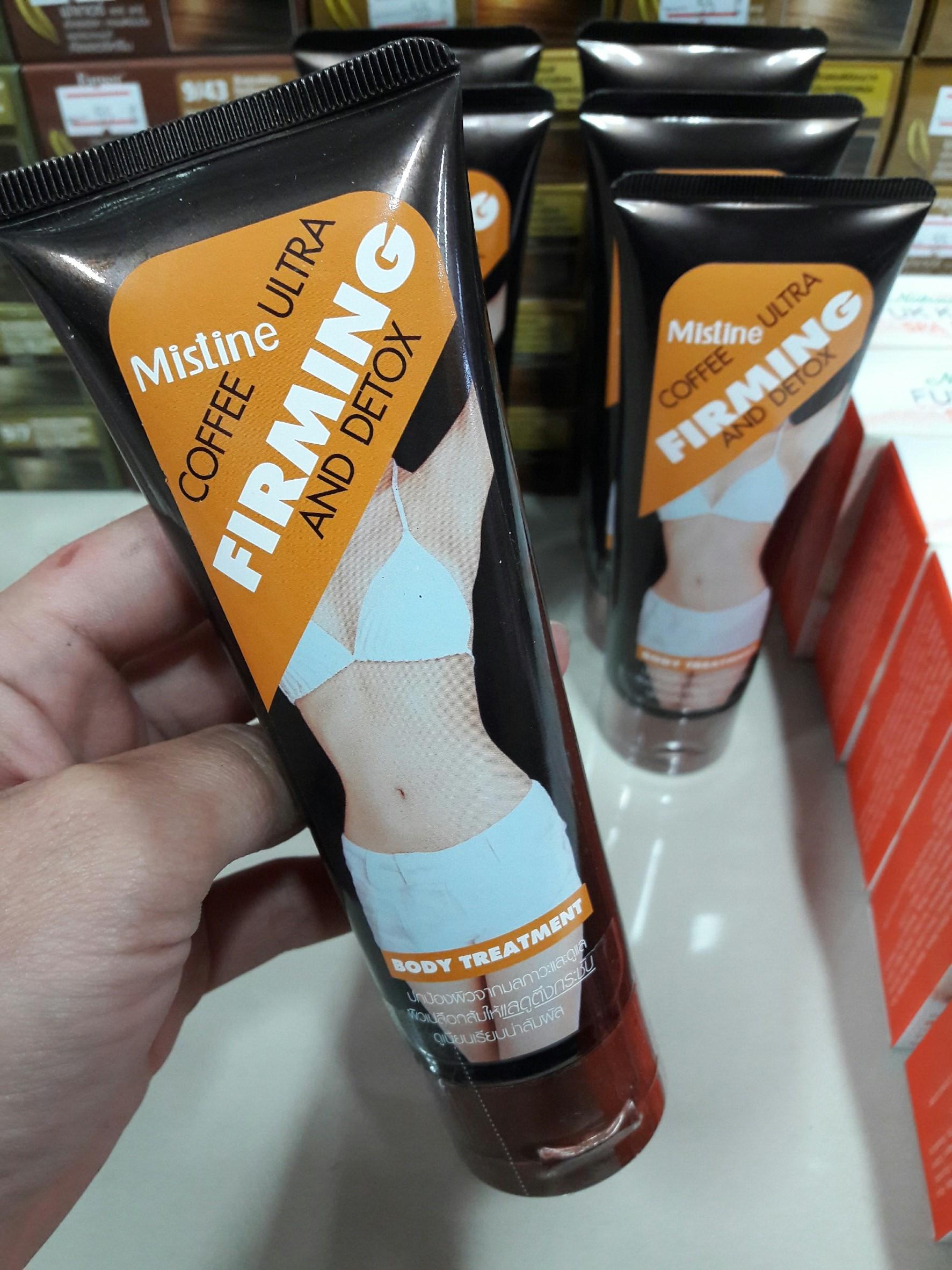 มิสทีน คอฟฟี่ อัลตร้า เฟิร์มมิ่ง แอนด์ ดีท็อกซ์ / Mistine Coffee Ultra Firming and Detoxทรีทเมนท์กระชับสัดส่วน