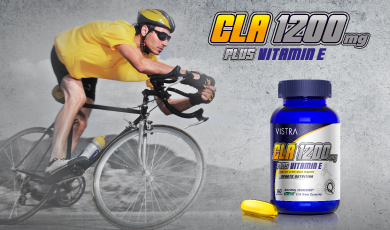 Vistra CLA 1200 mg. Plus Vitamin E Sport Nutrition บรรจุ 30 แคปซูล