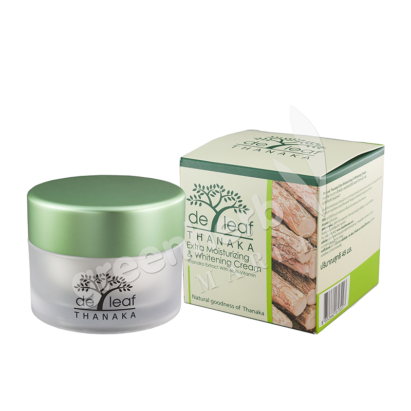 De Leaf Thanaka Extra Moisturizing & whitening Cream