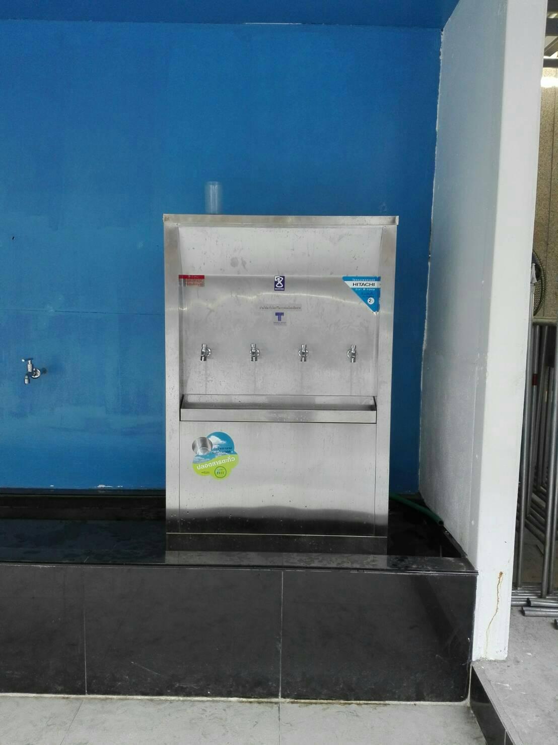 ตู้กดน้ำเย็น - น้ำร้อน