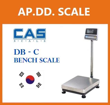 เครื่องชั่งดิจิตอล 30 กิโลกรัม ตาชั่งดิจิตอล เครื่องชั่งดิจิตอล เครื่องชั่งตั้งพื้น 30kg ความละเอียด2g CAS DB-C-30K แท่นขนาด30x40cm.