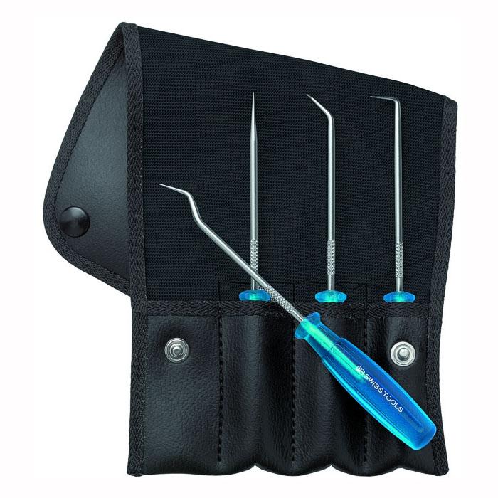 ชุดขอเกี่ยวโอริง PB Swiss Tools รุ่น PB 7681 (4 ตัว/ชุด)