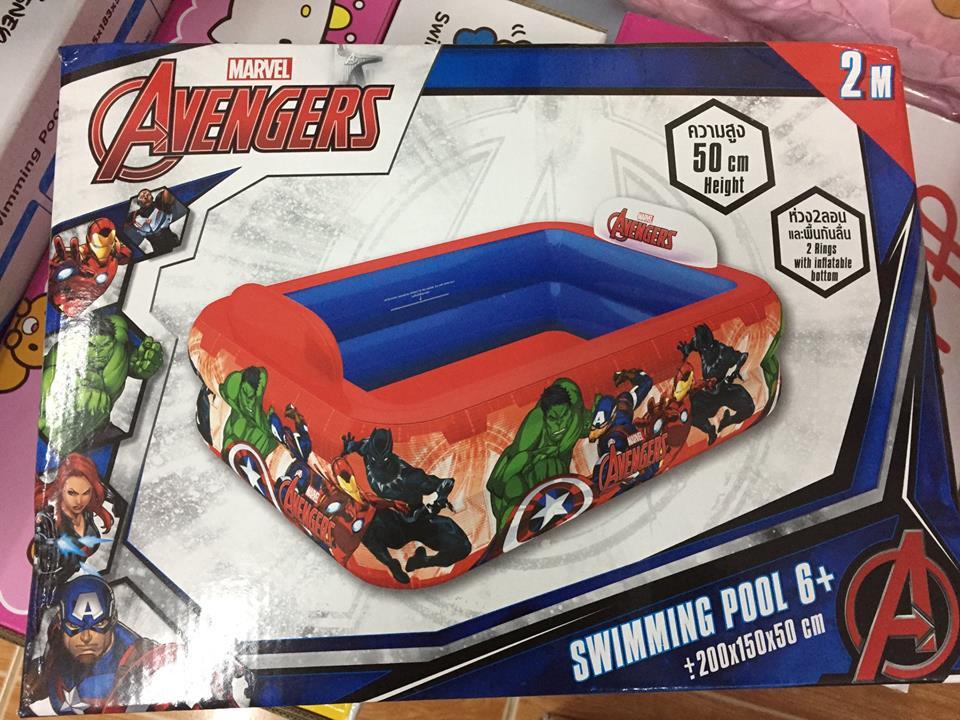 สระน้ำเป่าลม Avengers