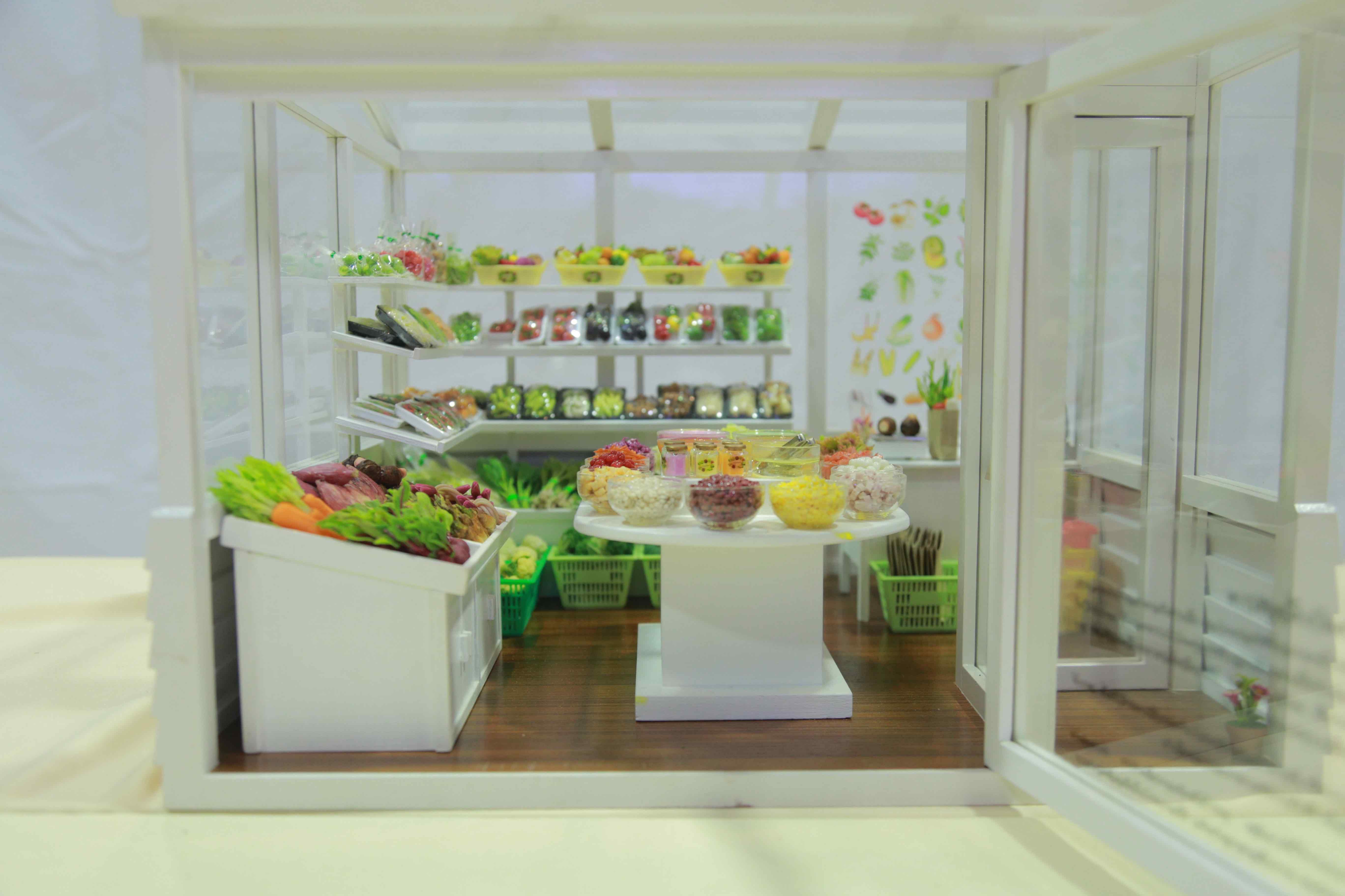 D00098 ร้านผักเพื่อสุขภาพ โลกของจิ๋ว