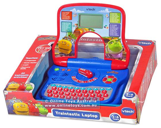 คอมพิวเตอร์สำหรับเด็ก Vtech traintastic laptop ของแท้ส่งพัสดุไปรษณีย์ฟรี