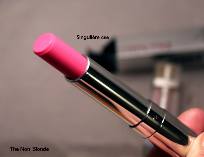 New Dior Addict Lipstick #465 SINGULIERE (เทสเตอร์ ขนาดปกติ) ลิปรุ่นใหม่ลาสุด ฝาครอบเป็นพลาสติกขาวนะคะ