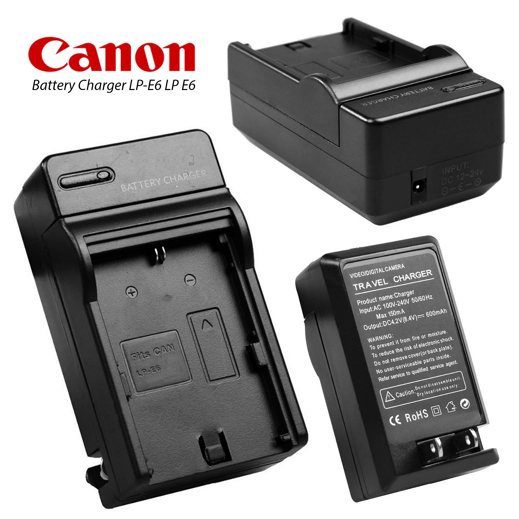 ที่ชาร์จ Battery Charger LP-E6 LP E6 For CAN0N 5DIII 5DII 60D 60Da 70D 6D 7D 7DSV Camera Battery