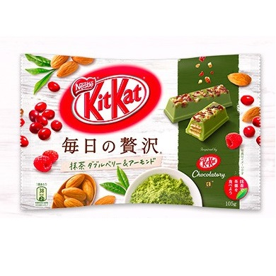 KitKat Chocolatory Moleson รสชาเขียว