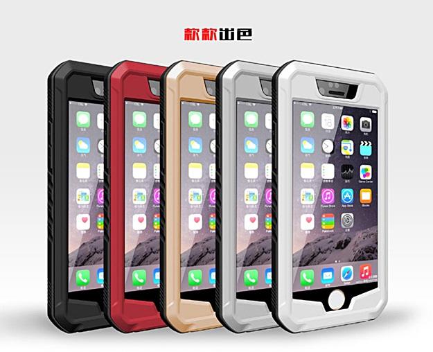 (460-001)เคสมือถือไอโฟน case iphone 6/6S เคสกันกระแทกกันน้ำดำน้ำหลายชั้นสไตล์ยุโรป