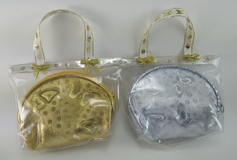 H 150 ของชำร่วย กระเป๋าเงินทอง แพ็คถุงพลาสติกใส